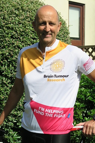 Gruelling 100-mile cycle helps fund research into brain tumours