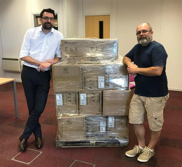 Hundreds of amps arrive at charity for world record attempt