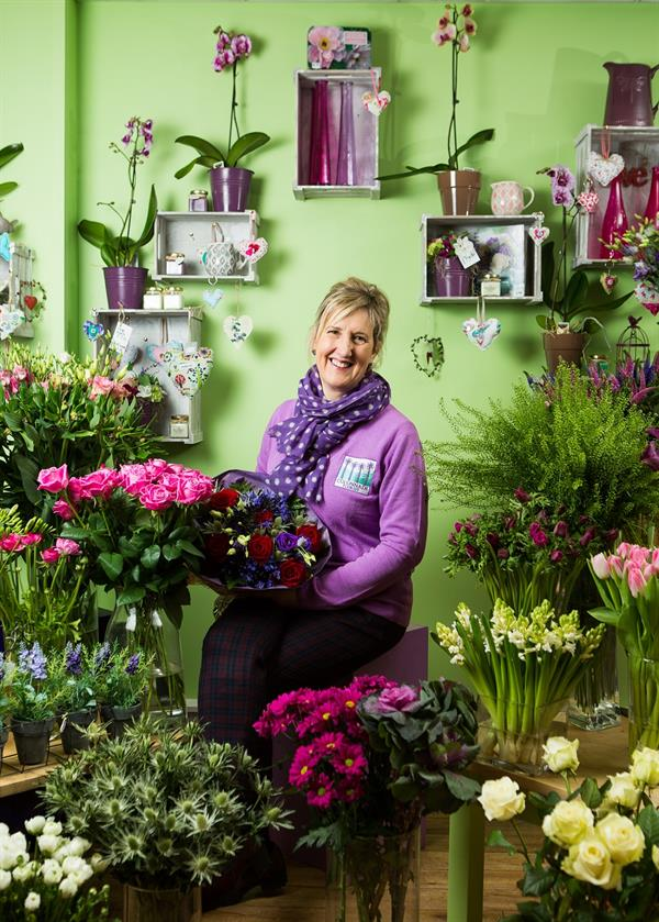 Colonnade Florist supports National Wear A Flower Week