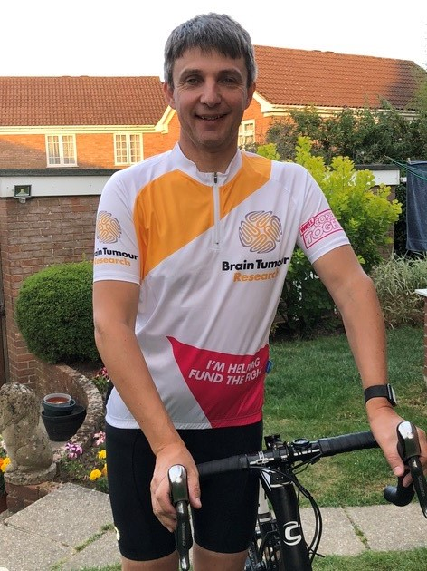 Doctor takes on ride for research into brain tumours