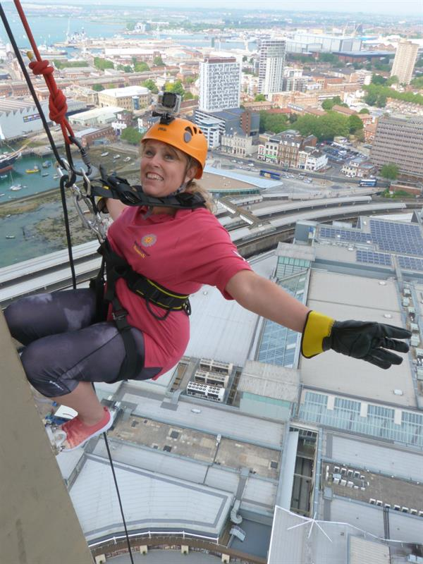 Abseil in memory of sister lost to a brain tumour