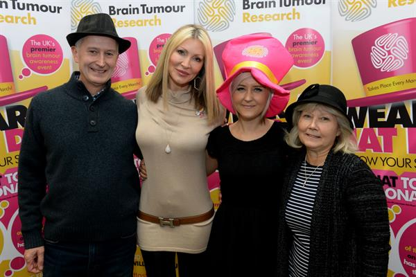 Gemma gets her hat on for Brain Tumour Research!