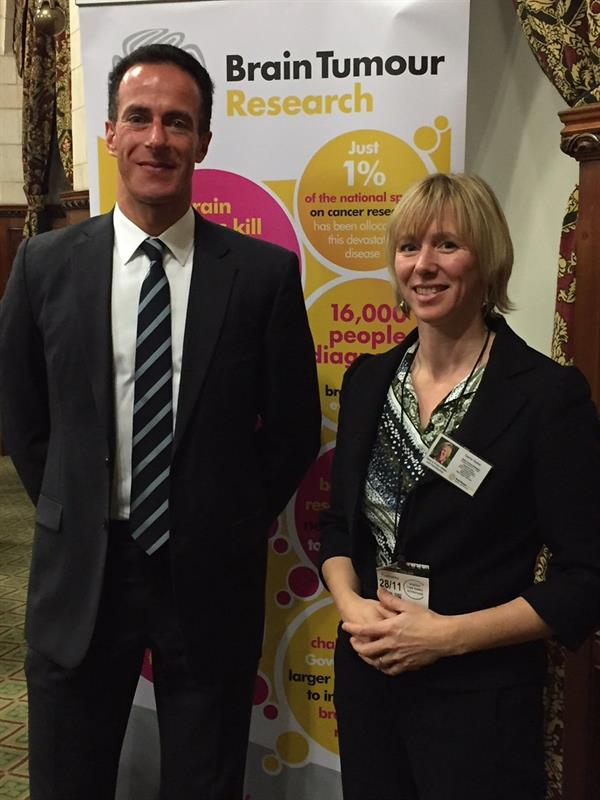 Bereaved son's story heard at House of Commons as brain tumour impact highlighted