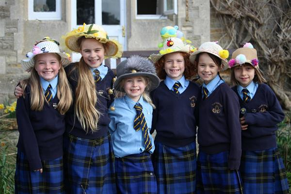 Beachborough School Wear A Hat Day