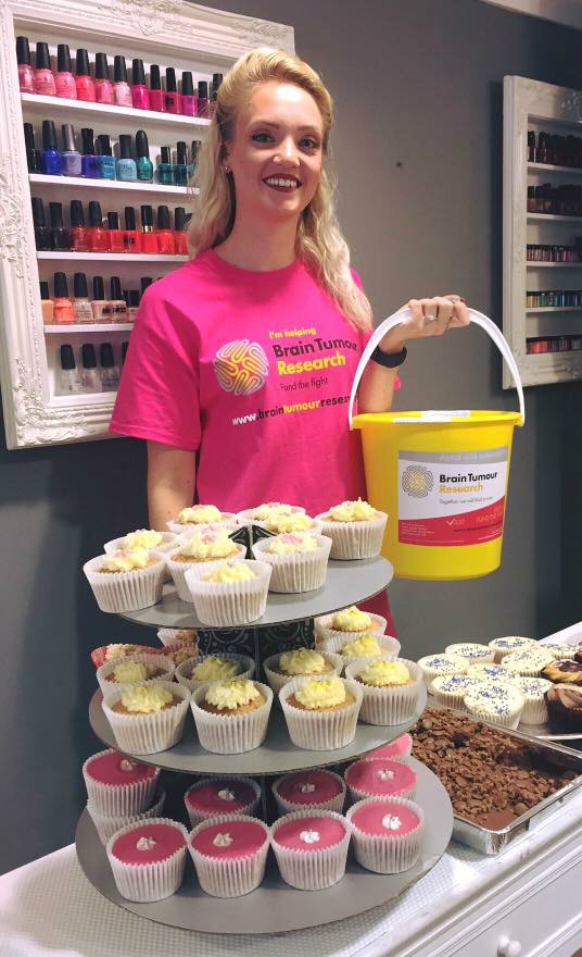 Bake sale delivers delicious donation for Brain Tumour Research