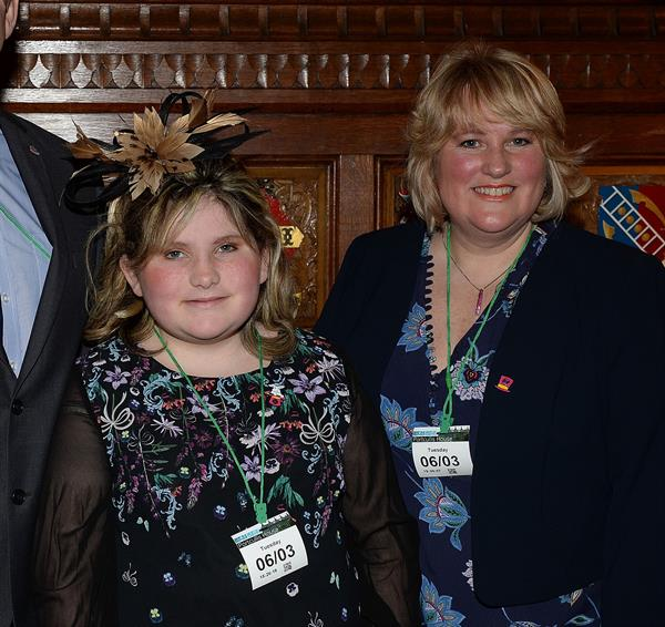 Devon teen's story heard at Westminster as brain tumour burden highlighted