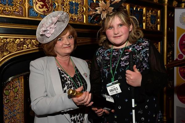 Brain tumour teen at Westminster for launch of new cancer inquiry