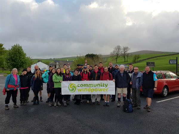 Energy company takes on Three Peaks challenge in support of Brain Tumour Research
