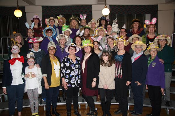 Stockport goes hatty in aid of Brain Tumour Research