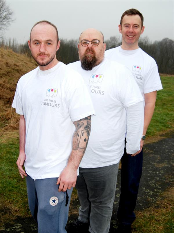 North East Brain Tumour Survivors take on Hadrian's Wall challenge in bid to raise £50K