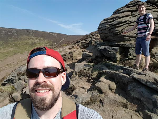 Grieving friends brave Three Peaks in pursuit of brain tumour cure