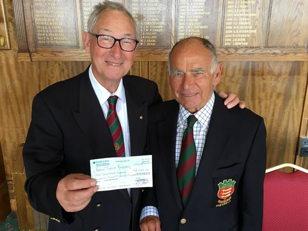 Frinton Golf Club captain raises over £1,700 in daughter's memory