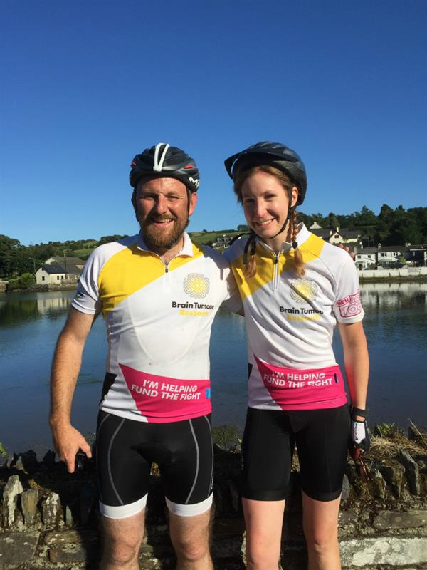 Cycling challenge in memory of brother killed by brain tumour