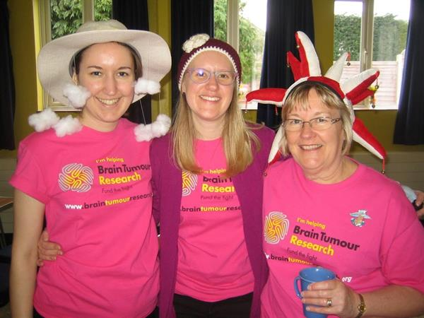 Grieving widow urges the local community to get their Hats on for Brain Tumour Research!