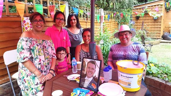 Widow hosts charity lunch in husband's memory