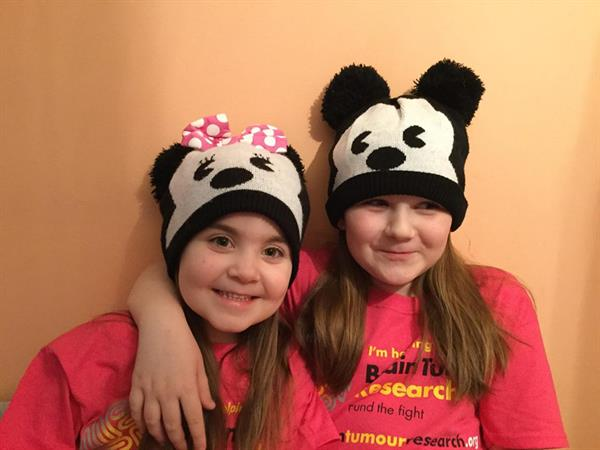 Sisters gets their Hats on for Brain Tumour Research in memory of dad