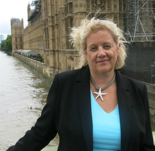 Widow visits Westminster to hear of momentous year for brain tumour community