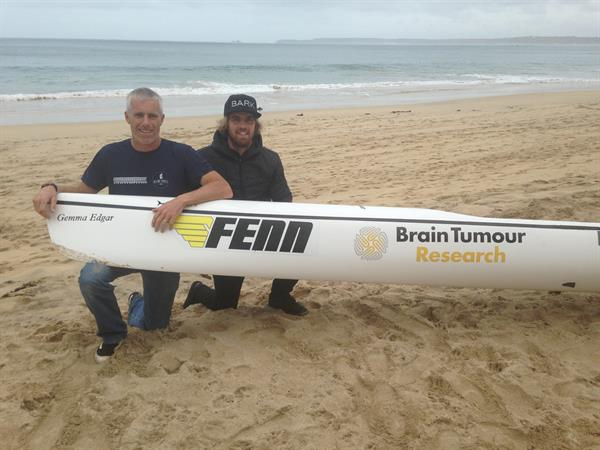 Ocean kayak lighthouse to lighthouse challenge inspired by young mum's battle with a brain tumour