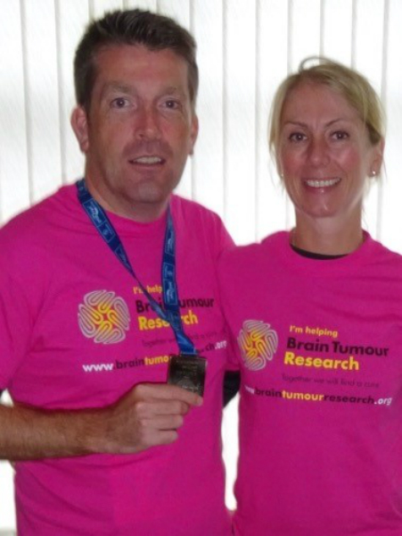 Brain tumour diagnosis inspires businessman's charity challenge