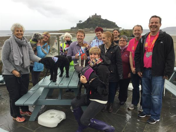 Charities hound up support from doggies and owners at coastal walk