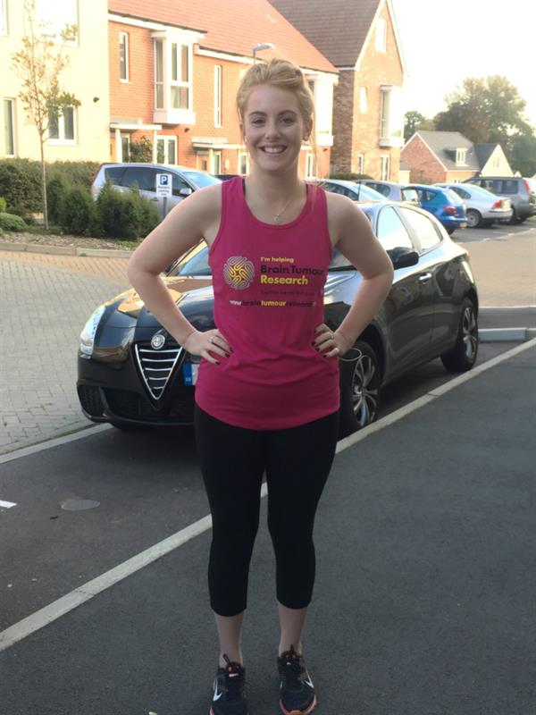 Losing dad to brain tumour inspires daughter's Great South Run
