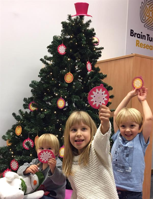 Christmas tree appeal offers hope to families  affected by brain tumours