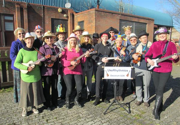 Ukulele players get their Hats on for Brain Tumour Research!