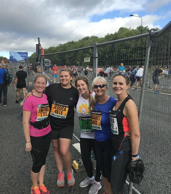 Bereaved mother and daughter's Great North Run success