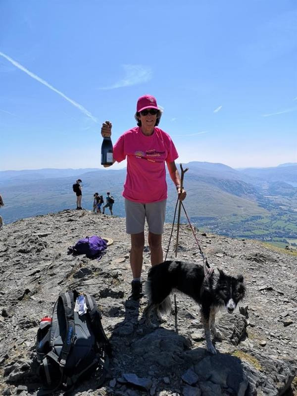 Fimber resident conquers Blencathra for a brain tumour cure