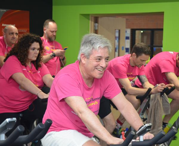 Charity chief appeals for cyclists to follow her lead for Brain Tumour Research