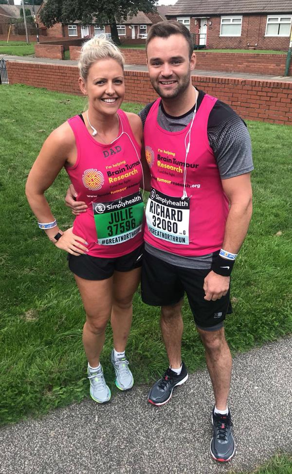 Daughter completes charity challenge in memory of dad