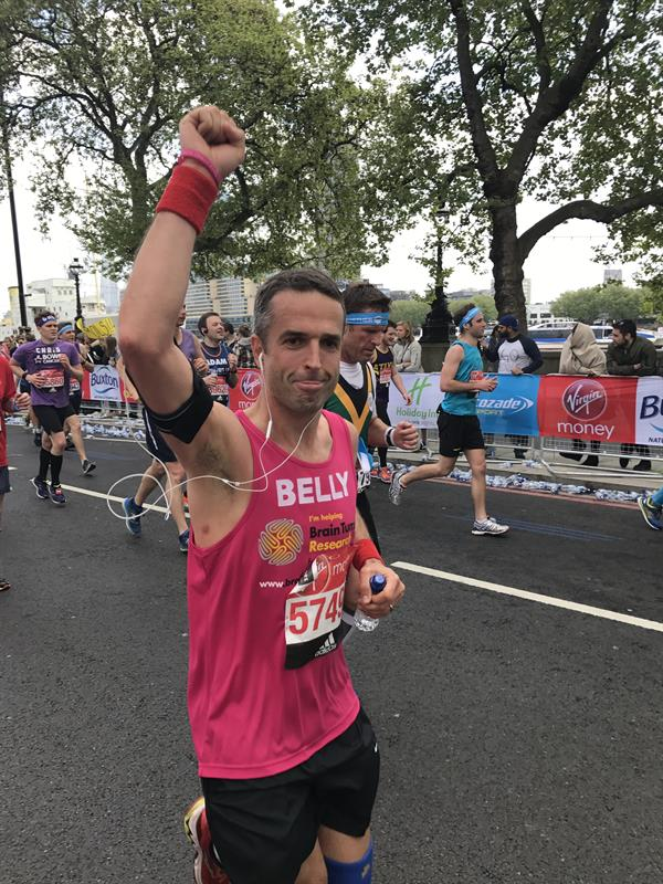 Runner who broke back in three places defies the odds to take on half marathon for charity