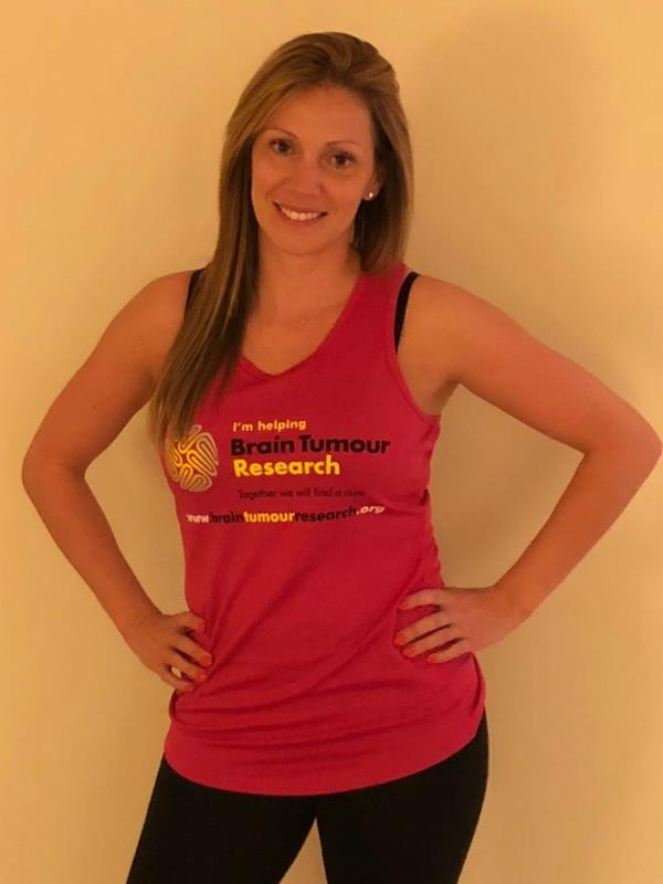Mother takes on London Marathon to raise awareness and funds for Brain Tumour Research