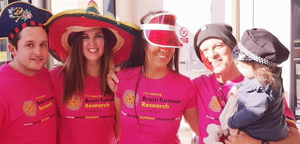 Bereaved Banstead man urges local community to get their Hats on for Brain Tumour Research!