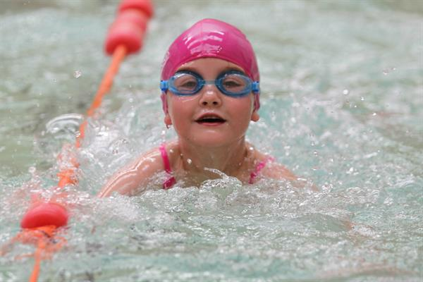 Double Olympian dives into charity's Swim for Hope campaign