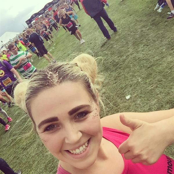 Sister completes Great North Run in honour of brother who survived a brain tumour