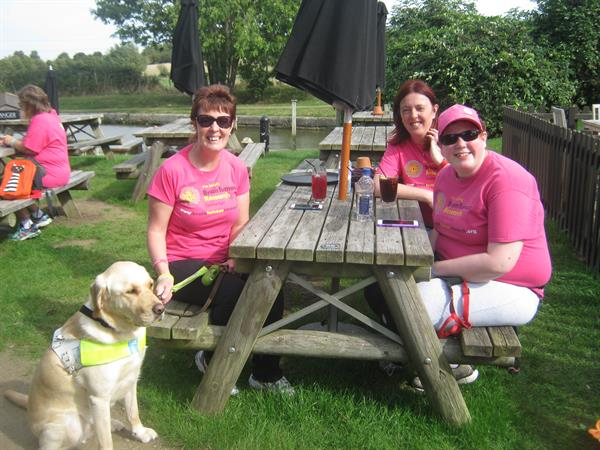 Volunteer grandmother paves the way for Grand Union Canal Walk