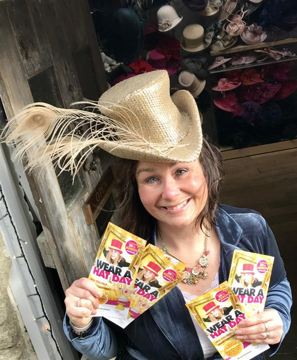 Hat-tastic designer asks others to get their Hats on for Brain Tumour Research!