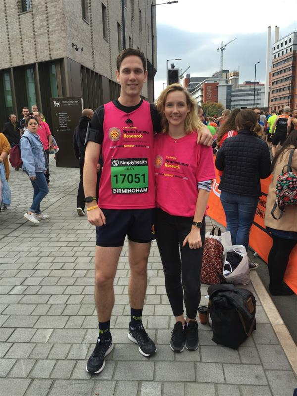 Father's brain tumour diagnosis prompts siblings to take on marathon challenge to help find a cure