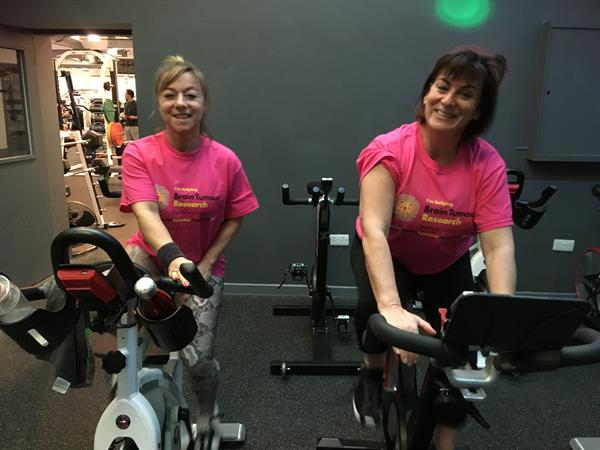 Charity spinathon raises thousands towards brain tumour research