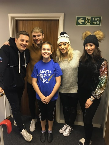 Schoolgirl back in panto after overcoming brain tumour – oh yes she is!