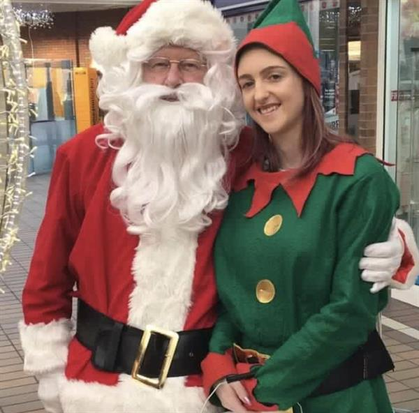Santa Claus helps raise vital funds for charity at Parkway Shopping Centre