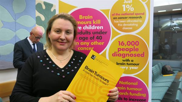 East London women's stories heard at Westminster as brain tumour burden highlighted