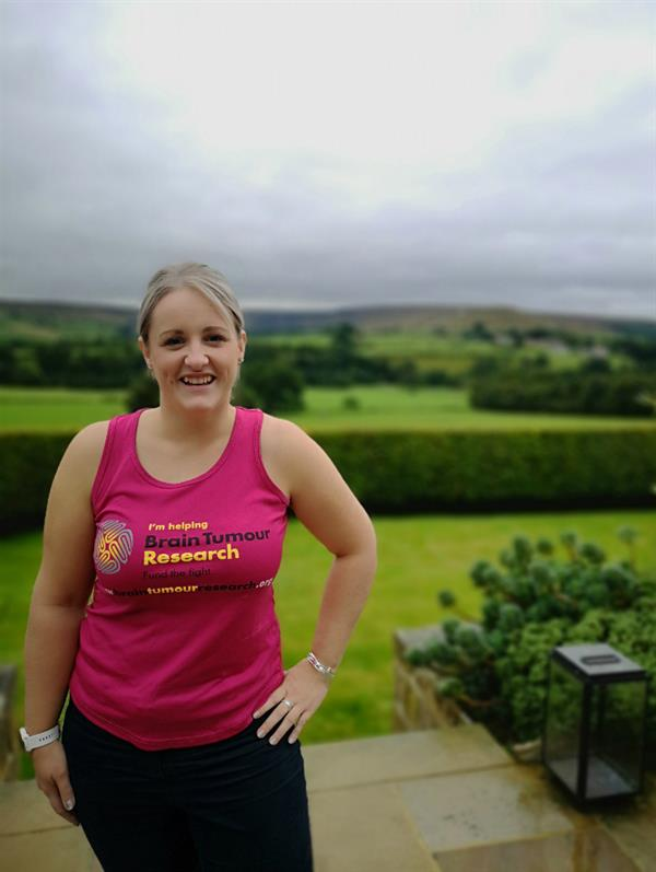 Friend's brain tumour diagnosis inspires Great North Run challenge