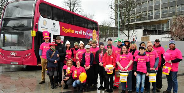 Plymouth goes hatty in aid of Brain Tumour Research