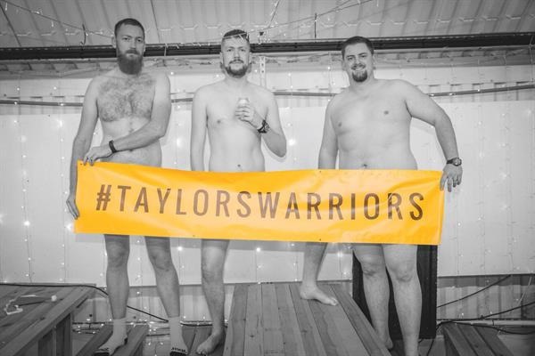 The big reveal: Royton men bare all for charity calendar