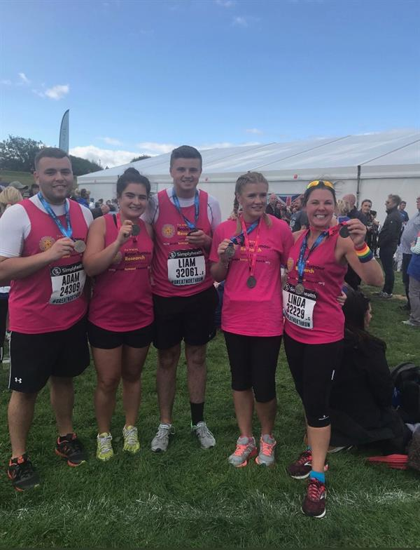 Loss of two brothers inspires Great North Run success