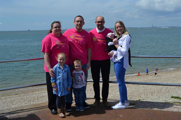 Little steps add up to big change for brain tumour patients as siblings take on sponsored challenge