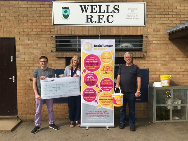 Wells Rugby Club holds match in memory of brain tumour patient