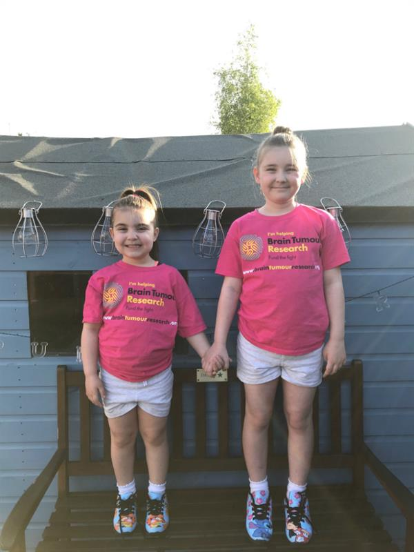 Little steps add up to big change for brain tumour patients as siblings take on sponsored challenge - Dave Leatherbarrow